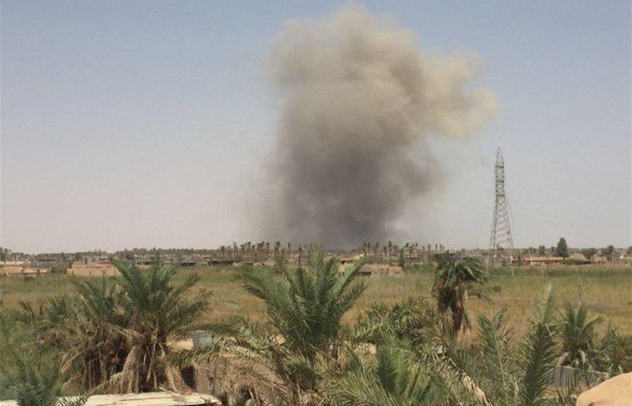 تصویر انفجار در بعقوبه عراق