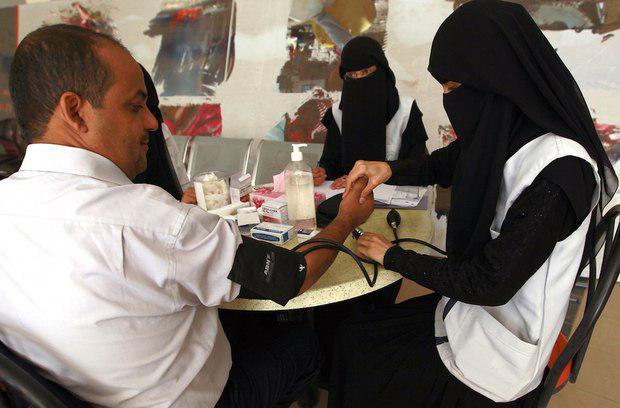 تصویر تعطیلی مرکز انتقال خون یمن