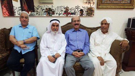 تصویر آزادی یک پزشک بحرینی از زندان