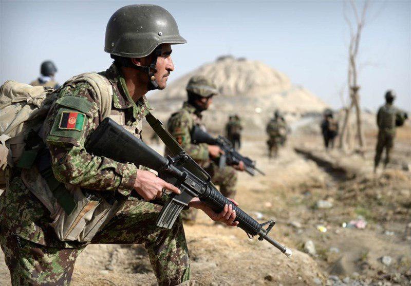 تصویر ۵۰۰ نظامی افغان در محاصره طالبان