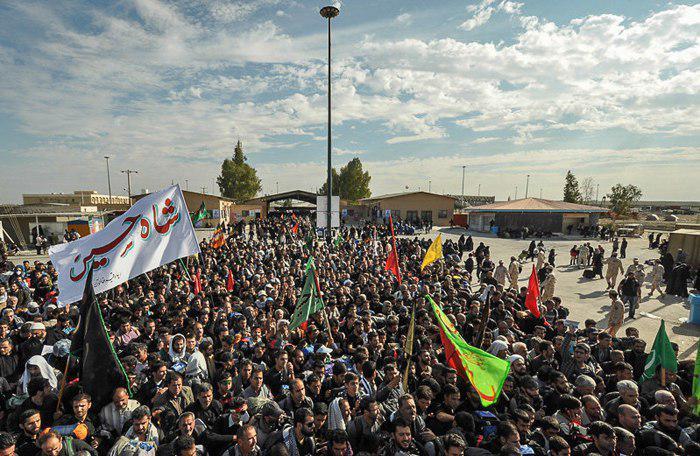 تصویر بازگشایی مرز کمکی در اربعین امسال به منظور تسهیل تردد زائران