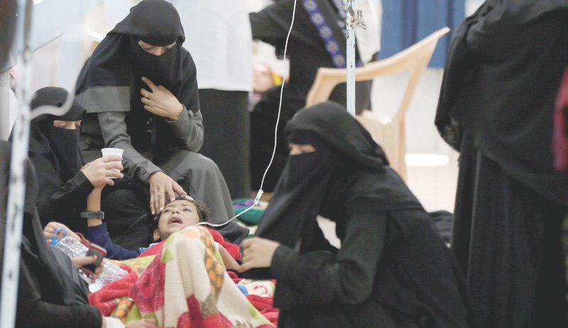 تصویر یمن درگیر بزرگترین اپیدمی قرن