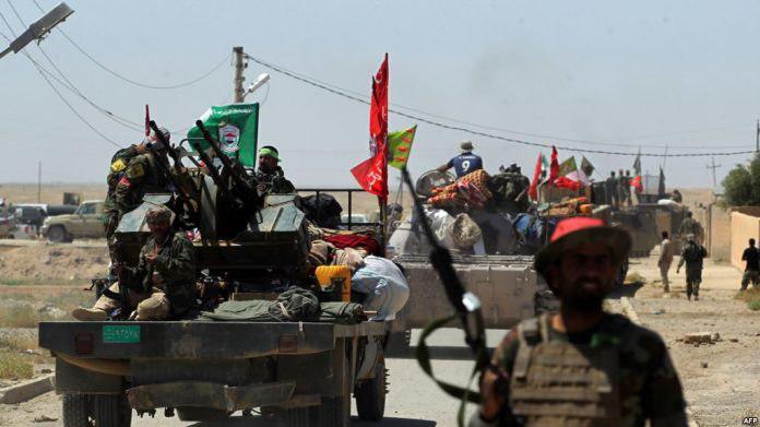 تصویر دستاورد نیروهای عراقی در نخستین روز عملیات آزادسارى تلعفر