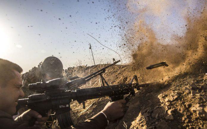 تصویر پیشروی نیروهای عراقی در عمليات آزادسازى تلعفر
