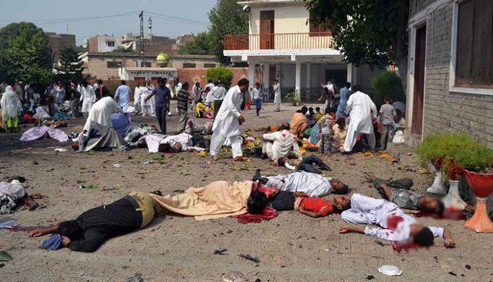 تصویر بيانيه بنیاد جهانی آیت الله العظمی شیرازی در محکومیت انفجار مسجد صاحب الزمان کابل
