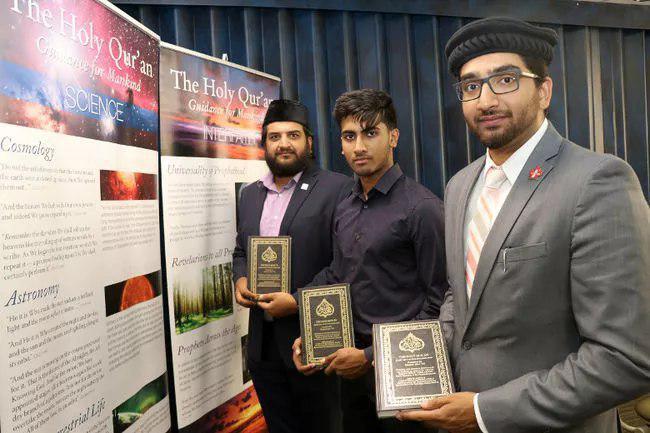 تصویر تلاش جوانان «کمروز» کانادا در گسترش شناخت قرآن