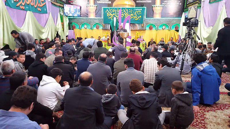 تصویر عید سعید غدیر خم در مراکز مرتبط با مرجعیت در سراسر جهان