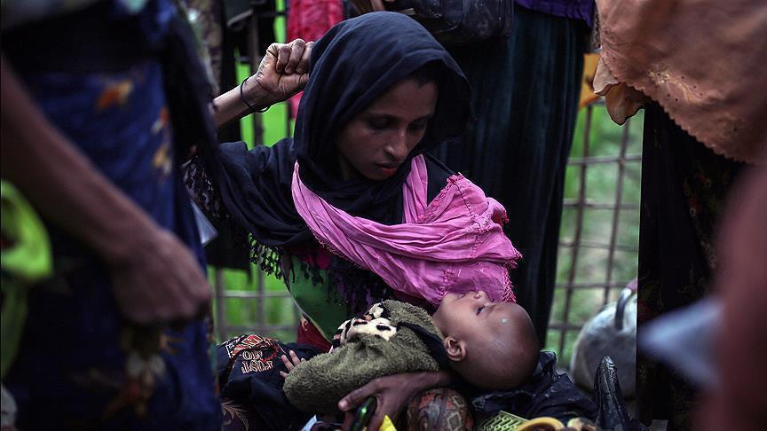 تصویر مرگ بیش از ۲۰۰ کودک روهینگیایی در یک هفته گذشته