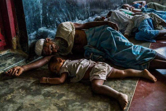 تصویر سیر صعودی پناهندگان روهینگیایی