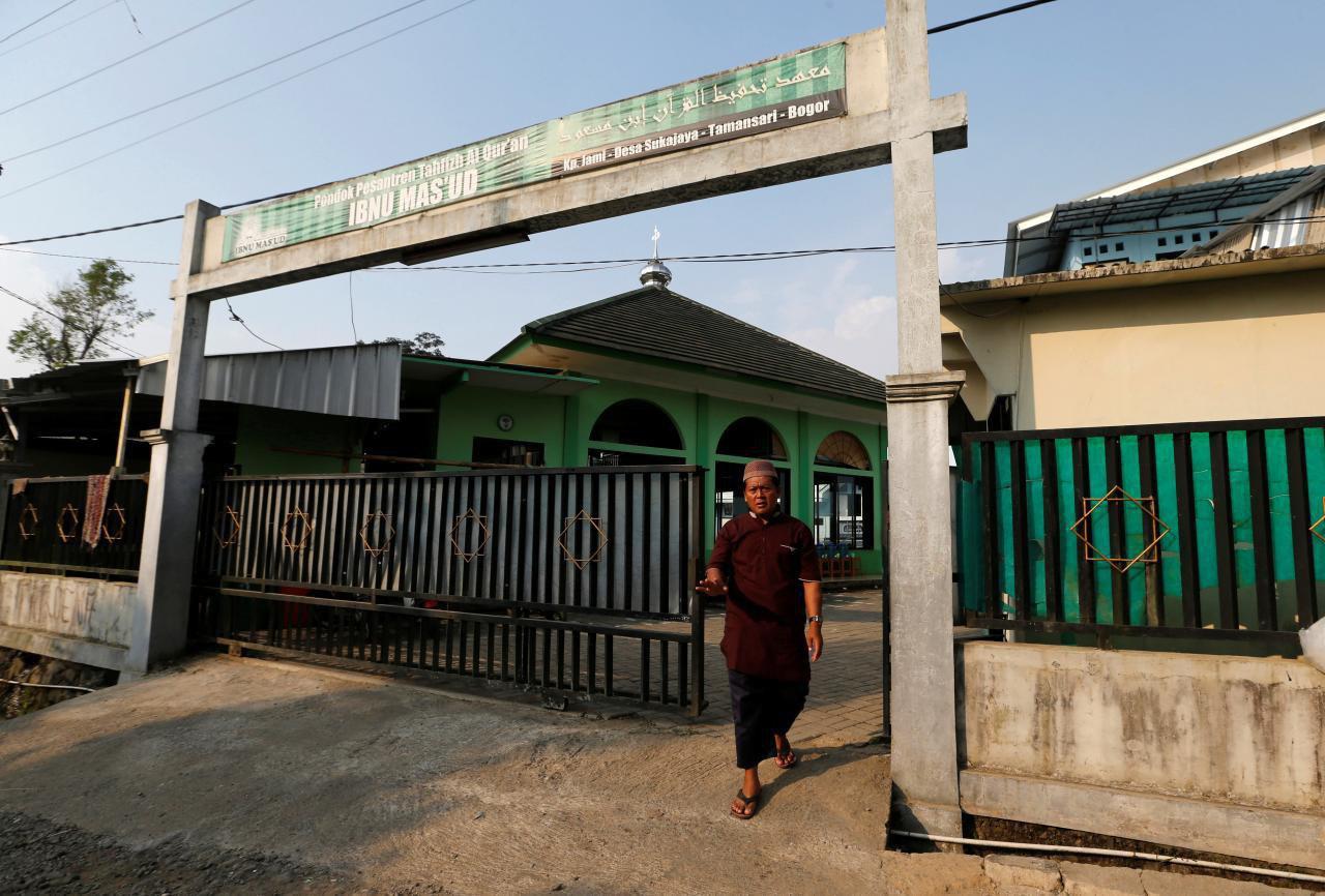 تصویر تعطیلی مدرسه مرتبط با داعش در اندونزی