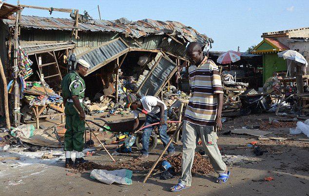 تصویر حملات انتحاری در شمال شرقی نیجریه