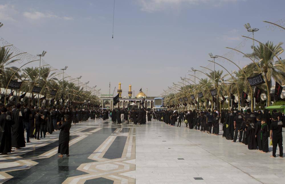 تصویر گزارش تصویری ـ حضور دستههای عزاداری حسینی در شهر مقدس کربلا