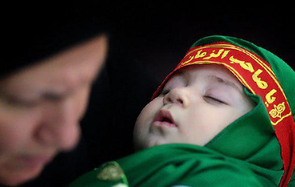 تصویر برگزاری مراسم شیرخوارگان حسینی در نقاط مختلف جهان