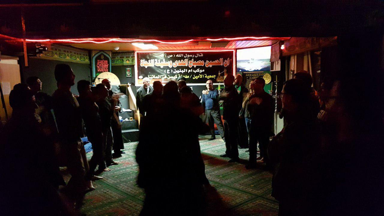 تصویر گزارش تصویری ـ برپایی عزای حسینی در هیئت حضرت «ام البنین سلام الله علیها» به مناسبت ماه محرم در شهر «اسن» کشور آلمان