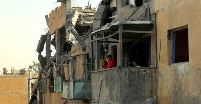 تصویر 84 غیر نظامی در بمباران اوتلاف علیه داعش جان باختند