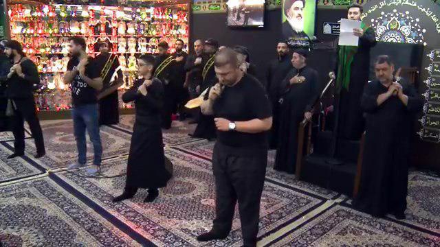 تصویر برپایی مجالس عزای حسینی در مراکز مرتبط با مرجعیت شیعه در کشورهای اروپایی