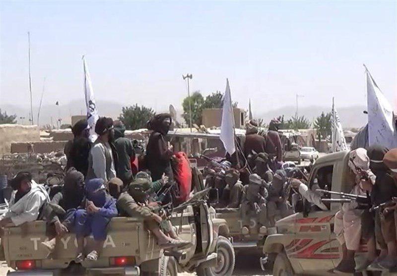 تصویر سقوط دو پاسگاه امنیتی در غرب افغانستان