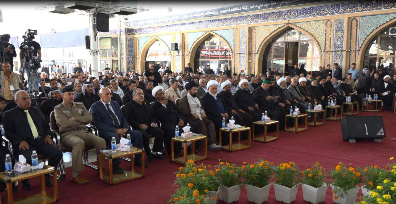 Photo of حضور مجموعه رسانه ای امام حسین علیه السلام در جشنواره حضرت زید شهید در بابل عراق