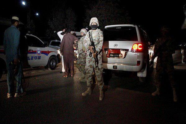 تصویر حمله سنی های تندرو به شیعیان پاکستان