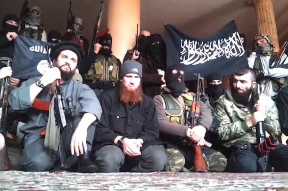 تصویر جذب نیرو توسط وهابیها در جمهوری آذربایجان برای تروریستها