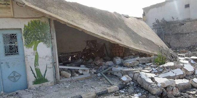 تصویر حمله خمپاره ای تروریستها به منطقه شیعه نشین الزهراء