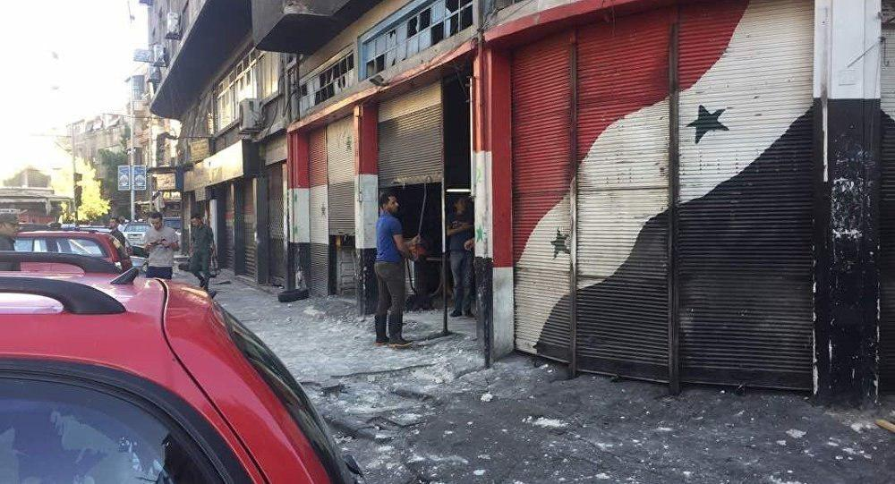 Photo of وقوع ۳ انفجار انتحاری در دمشق