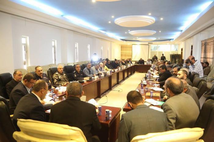 تصویر اعلام اماکن پذیرایی از زائران اربعین در نجف