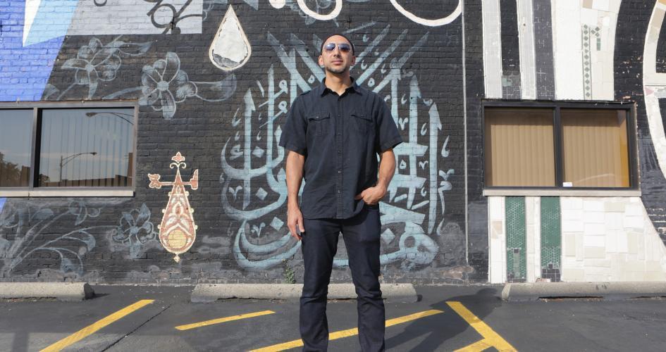 تصویر جوان مسلمان برنده «مک آرتور»