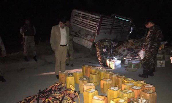 تصویر جلوگیری از وقوع یک انفجار انتحاری مهیب با کامیون در کابل
