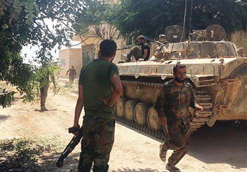 تصویر خنثی سازی عملیات انتحاری در سوریه