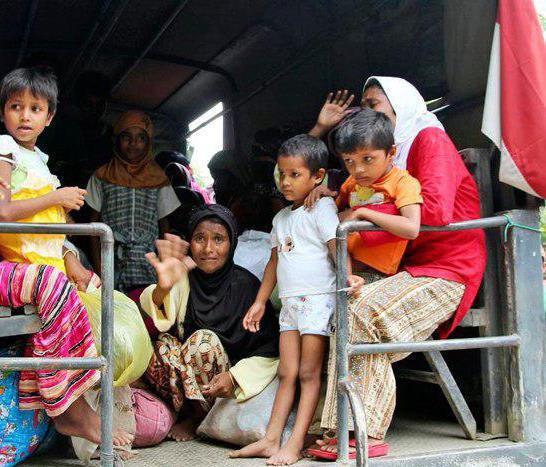 تصویر گزارش سازمان ملل از وضعیت وخیم کودکان روهینگیا در بنگلادش