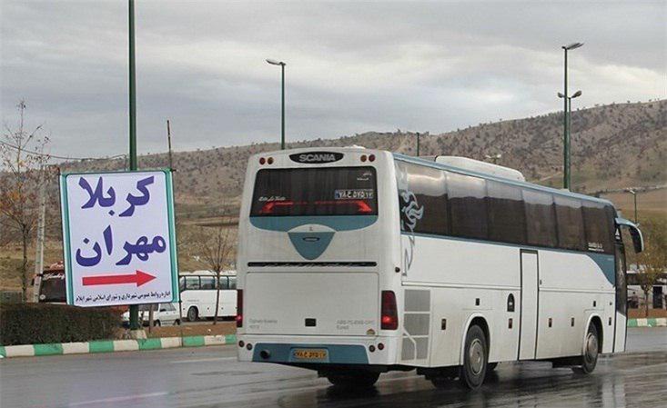 تصویر افزایش 100 درصدی بلیط اتوبوس های ایران در اربعین حسینی