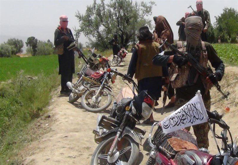 تصویر حمله طالبان به ایست بازرسی پلیس در شمال افغانستان