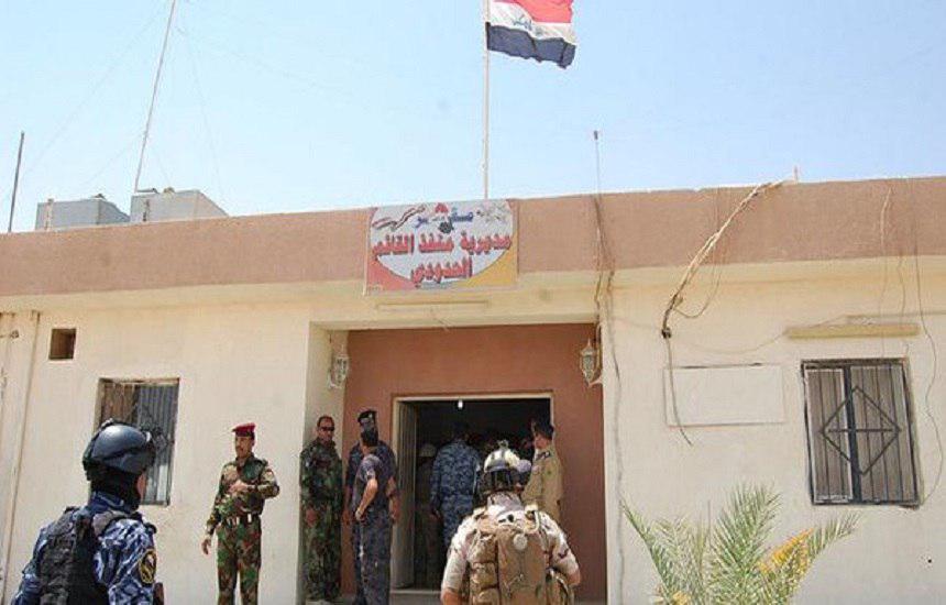 تصویر القائم عراق آزاد شد.