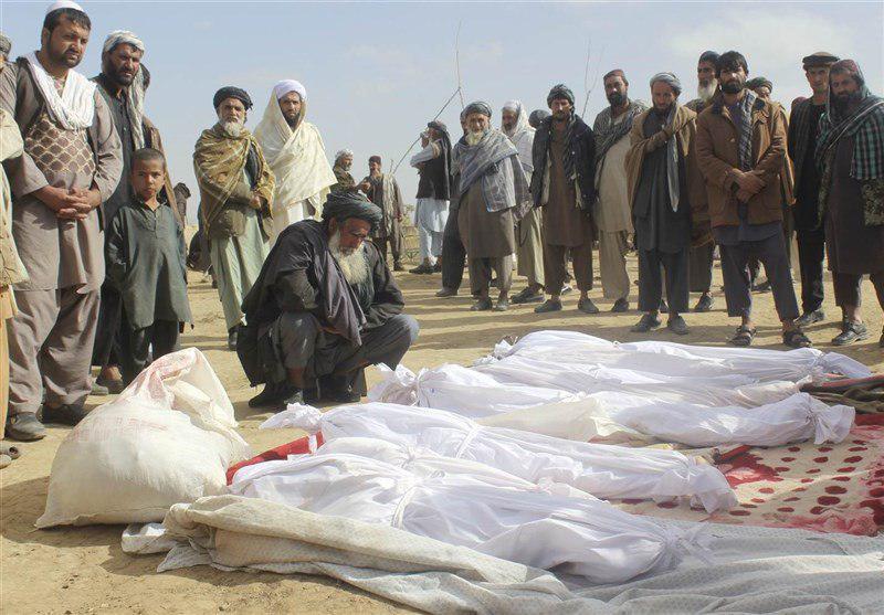 تصویر بمباران غیر نظامیان در افغانستان