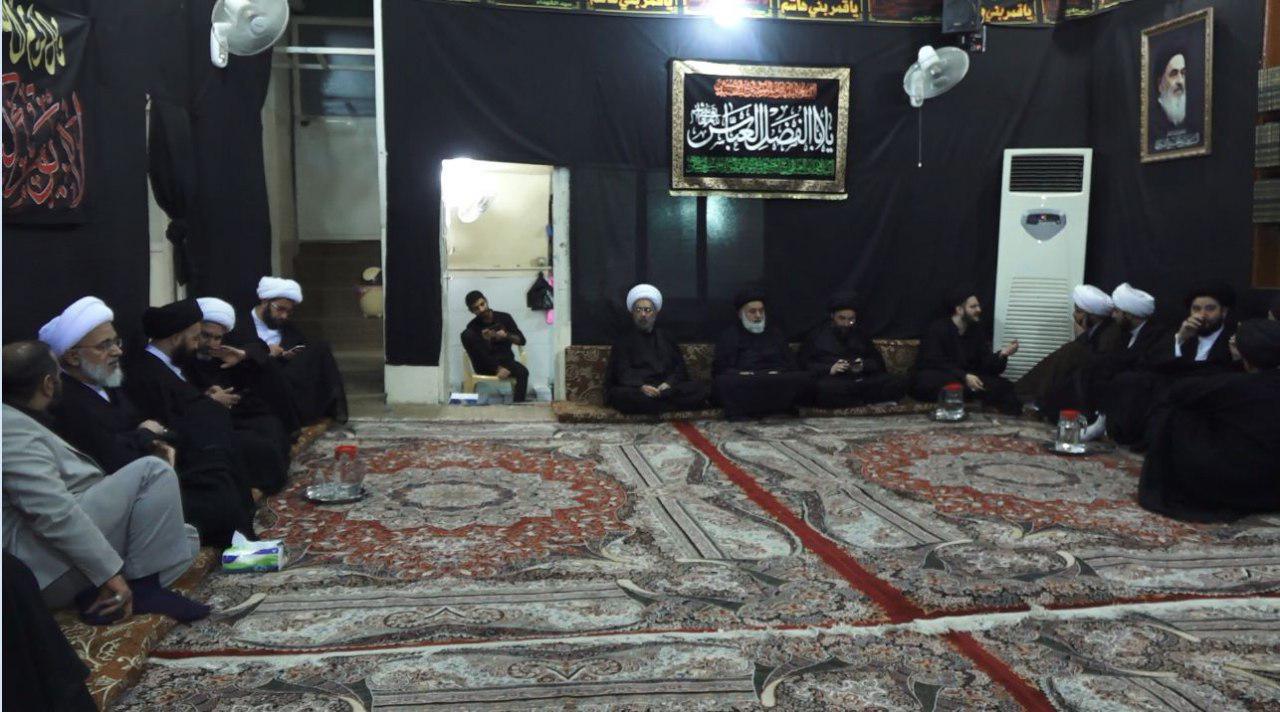 تصویر نقش دفاتر مرجعیت شیعه در ایام زیارتی اربعین حسینی