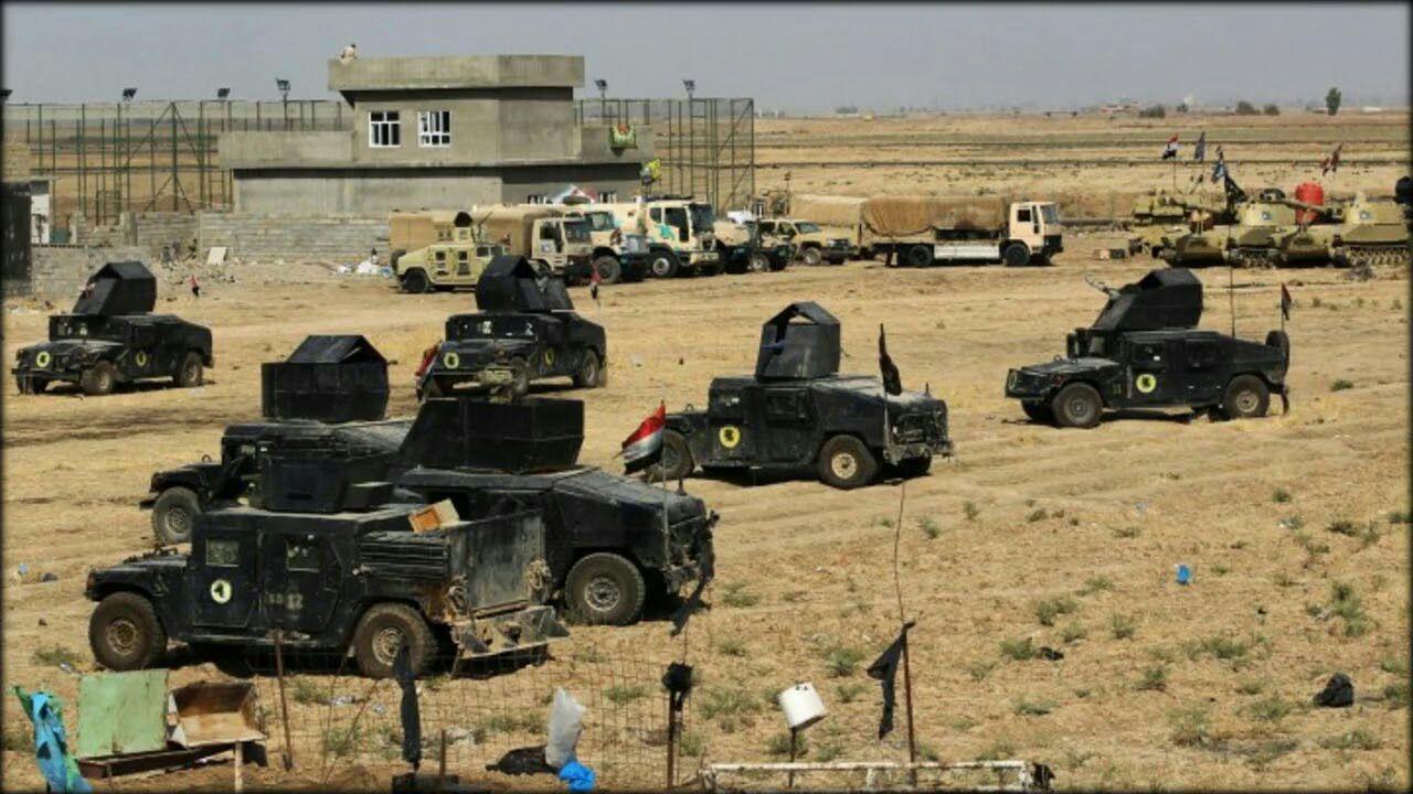 تصویر عملیات گسترده نیروهای عراقی برای تعقیب عناصر داعش در بعقوبه