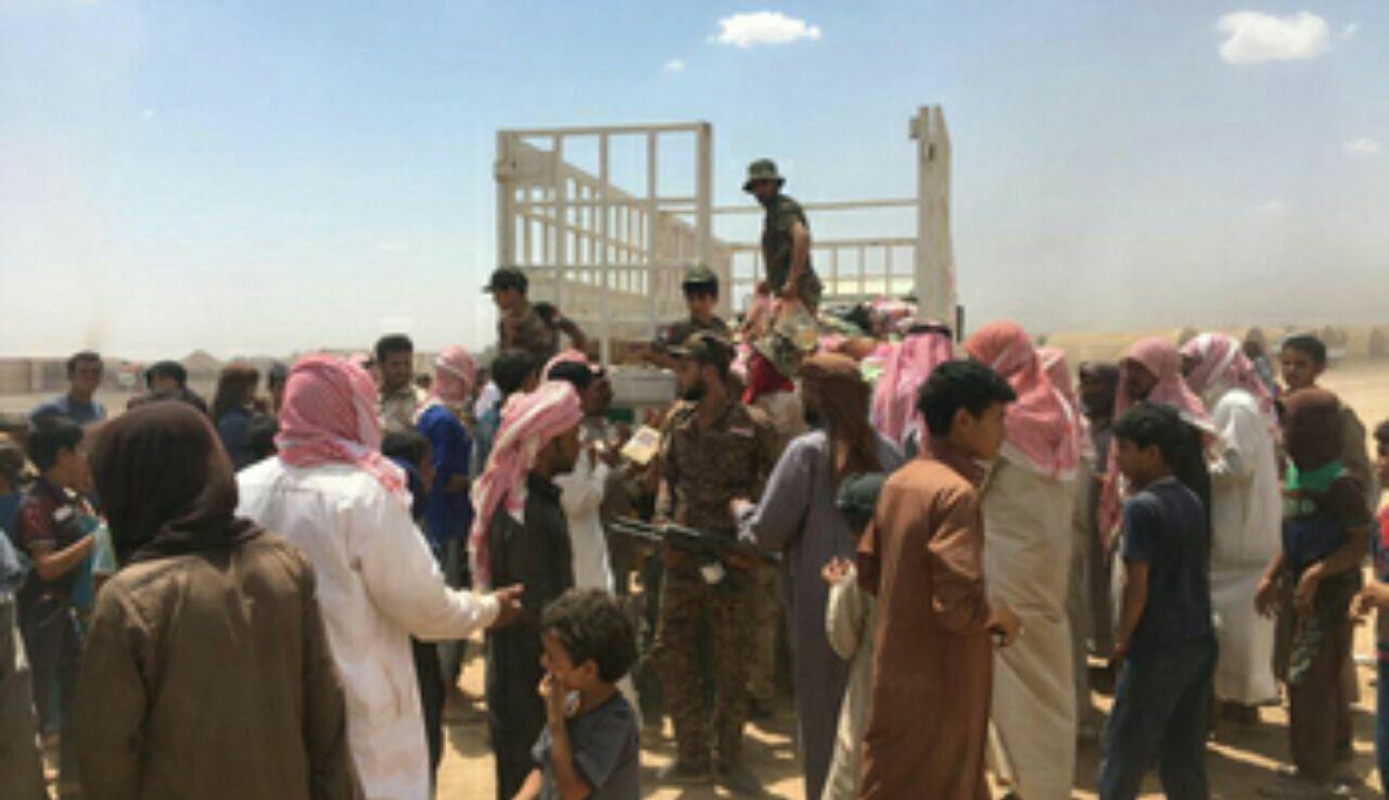 تصویر آوارگی ۱۷ هزار عراقی از شروع عملیات آزادسازی شهر القائم