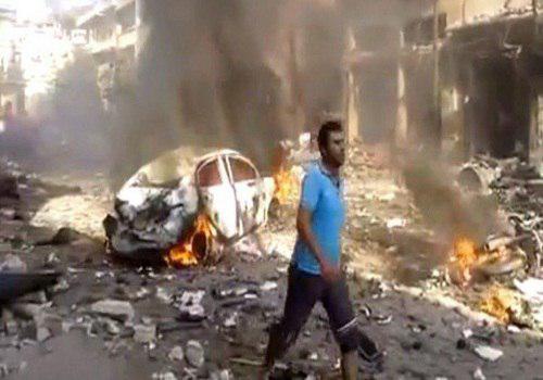 تصویر ادامه حملات خمپاره ای سنی های تندرو به دمشق