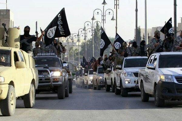 تصویر حمله تروریستی داعش در کشمیر