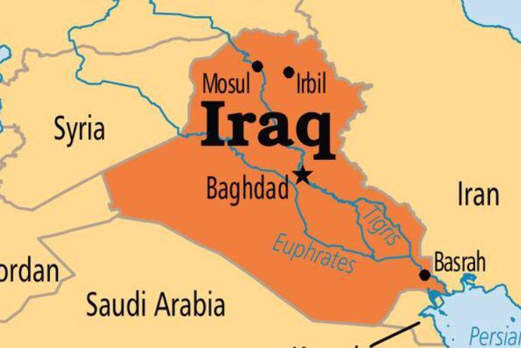 تصویر حمله انتحاری در بازار منطقه النهروان بغداد پایتخت عراق