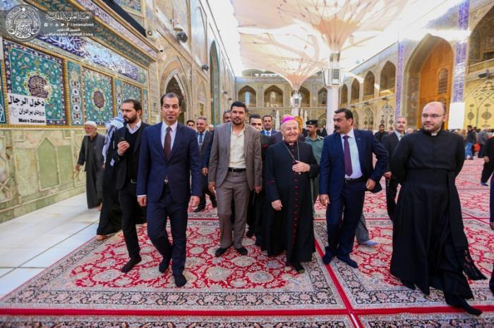 تصویر اسقف مسیحی: رهنمودهای انسانی امام علی علیه السلام مبنایی برای همزیستی مسالمت آمیز
