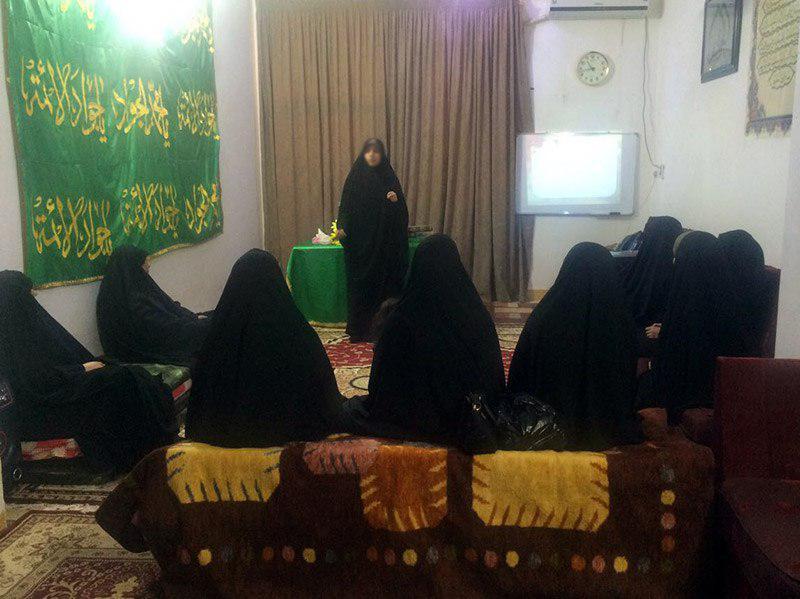 تصویر برگزاری کارگاه آموزشی «داوطلب کوچک» در شهر مقدس کربلا