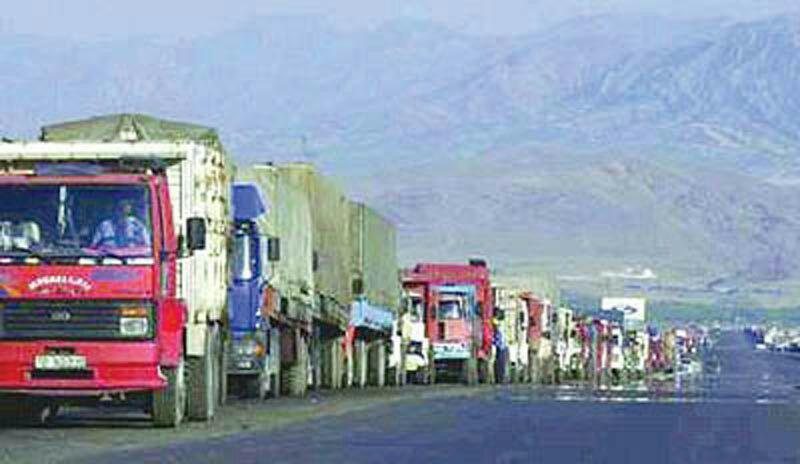 تصویر بسته شدن مرز شلمچه بین ایران و عراق