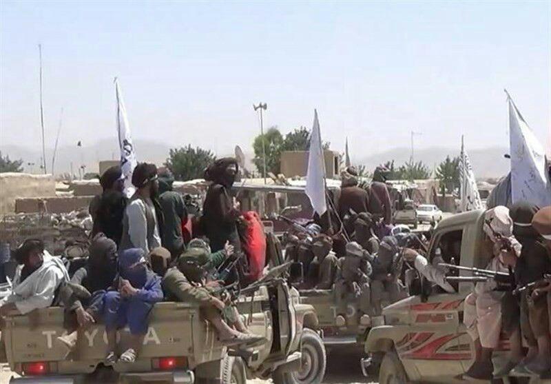 تصویر حمله طالبان به پاسگاه پلیس در جنوب شرق افغانستان