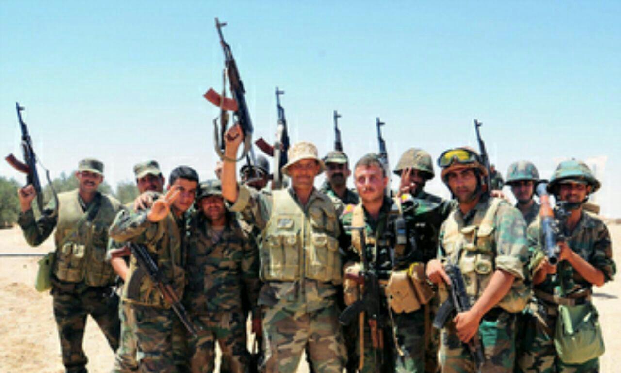 تصویر پیشروی ارتش سوریه در حومه حلب