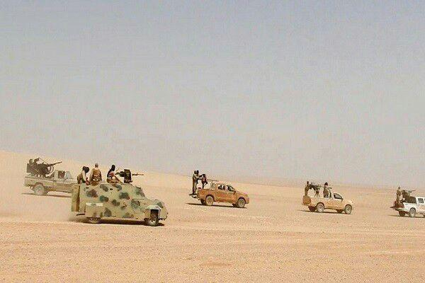 تصویر حمله داعش به مرز عراق و سوریه خنثی شد