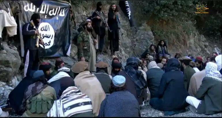 تصویر روسیه: ده هزار داعشی در افغانستان هستند