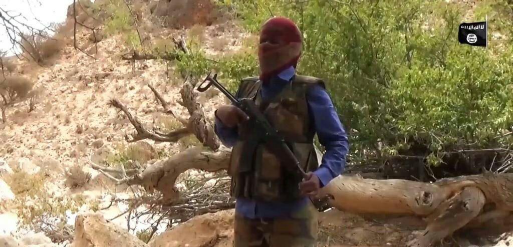 تصویر اولین تصاویر از عناصر تروریستی داعش در سومالی