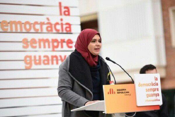 تصویر سومین نماینده مسلمان به پارلمان کاتالونیا راه یافت